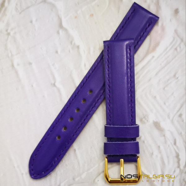 Watch Strap, Genuine Leather